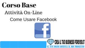 Lezione On-Line 1 - Come usare Facebook